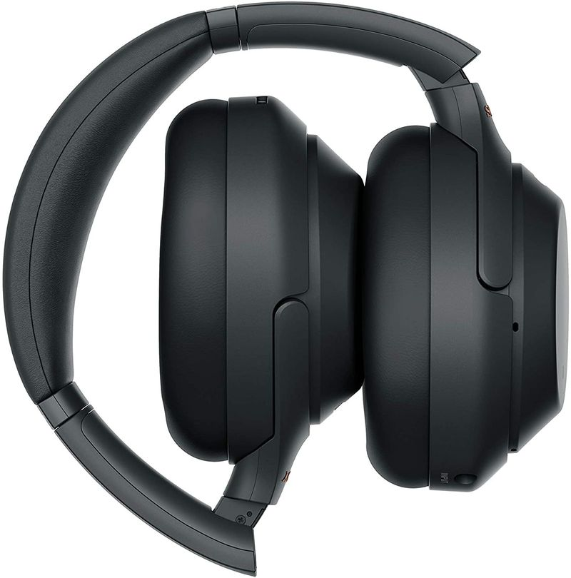 Sony WH-1000XM3 Wireless Noise Cancelling Headphones with Mic - Black, (WH1000XM3/B)