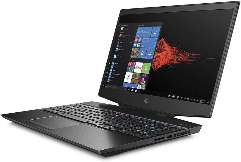 HP 15-dh0023ne Omen Gaming 15.6 inches 144GHz LED Laptop Intel core i7-9750, 32 GB RAM, 1024 GB SSD, NVIDIA GeForce RTX 2070 with Max-Q design 8GB Graphics, Windows 10, ENG-ARA KB, Black