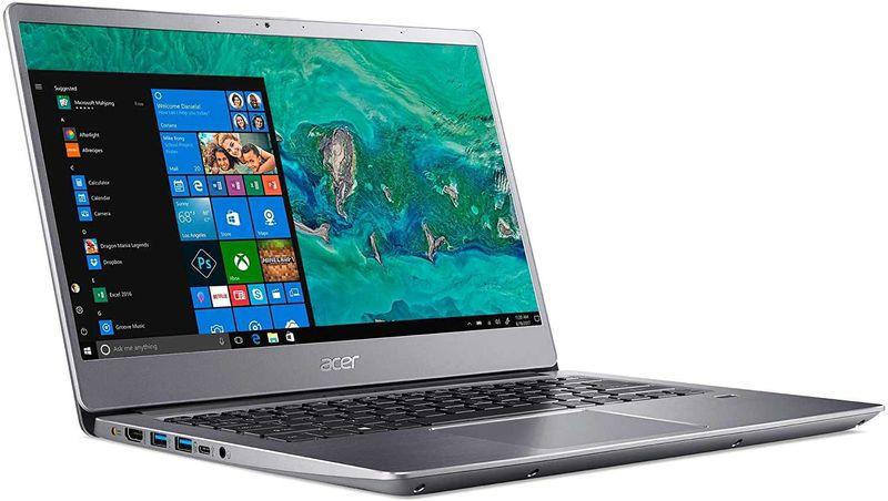Acer Swift 3-SF314-56G-52LB Laptop, Intel Core i5-8265U, 8GB RAM, 256GB PCIe NVMe SSD + 1TB HDD, 2GB NVIDIA® GeForce® MX250, 14