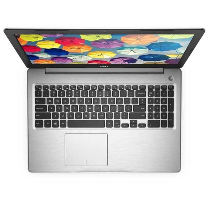 Dell Inspiron 5570 Laptop, 15.6 Inch, Intel Core i7, 1.8GHz, 4GB AMD Radeon Graphics, 8GB Ram, 1TB HDD, 8th Generation, ENG/AR KB, Grey