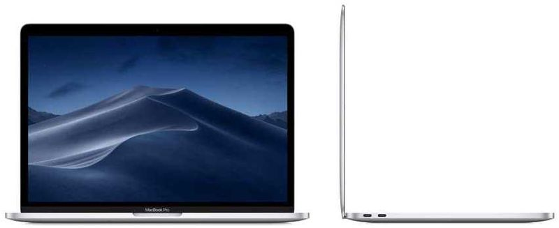 Apple Macbook Pro (2019) With Touch Bar, Core i5, 2.3GHz, 8GB Ram, 256GB SSD, ENG/Ar KB, Silver